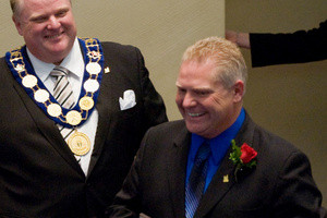 Doug Ford and Rob Ford