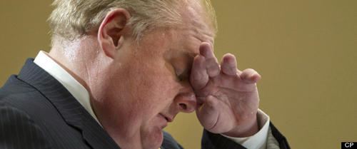 Mayor Rob Ford ousted