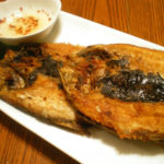 Fried Bangus or milkfish
