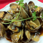 clams in black-bean sauce