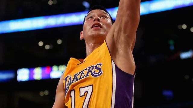 Jeremy Lin Los Angeles Lakers
