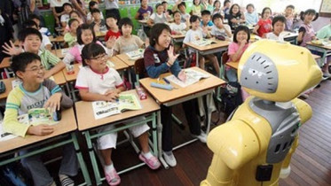 Robot in the classroom