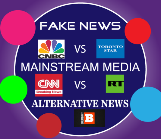 Fake News vs Mainstream Media vs Alternative News