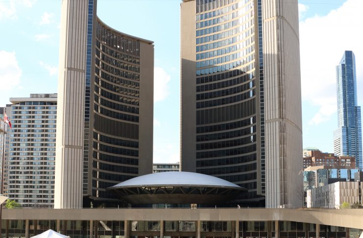 Toronto City Hall Councillors